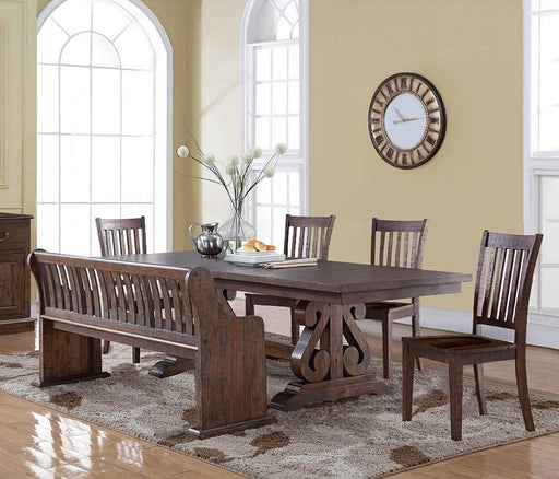 New Classic Furniture | Dining Rectangular Table 6 Piece Set in Annapolis, Maryland 607