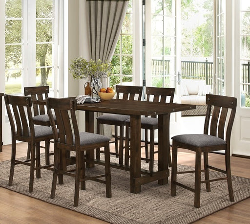 New Classic Furniture | Dining Counter Table 7 Piece Set in Hampton(Norfolk), Virginia 252