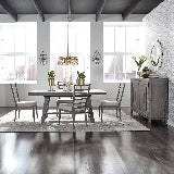 Liberty Furniture | Dining 7 Piece Trestle Table Sets in Frederick, Maryland 15833