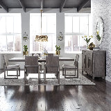 Liberty Furniture | Dining Opt 5 Piece Trestle Table Sets in Charlottesville, Virginia 15817