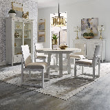 Liberty Furniture | Dining Opt 5 Piece Round Table Sets in Washington D.C, Northern Virginia 15868