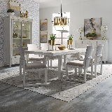 Liberty Furniture | Dining Opt 7 Piece Trestle Table Sets in New Jersey, NJ 15871