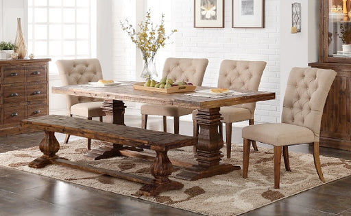 New Classic Furniture |  Dining Table 6 Piece Set in New Jersey, NJ 479