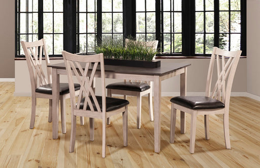 New Classic Furniture |  Dining Rectangular Table 5 Piece Set in Richmond,VA 537