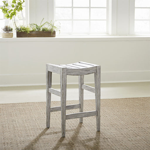 Liberty Furniture | Casual Dining 24 Inch Counter Stool - White in Richmond,VA 18873