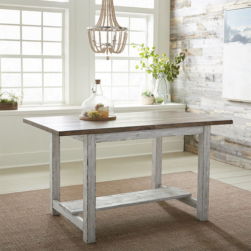 5 Liberty Furniture | Casual Dining Gathering Table - White in Richmond,VA 18878