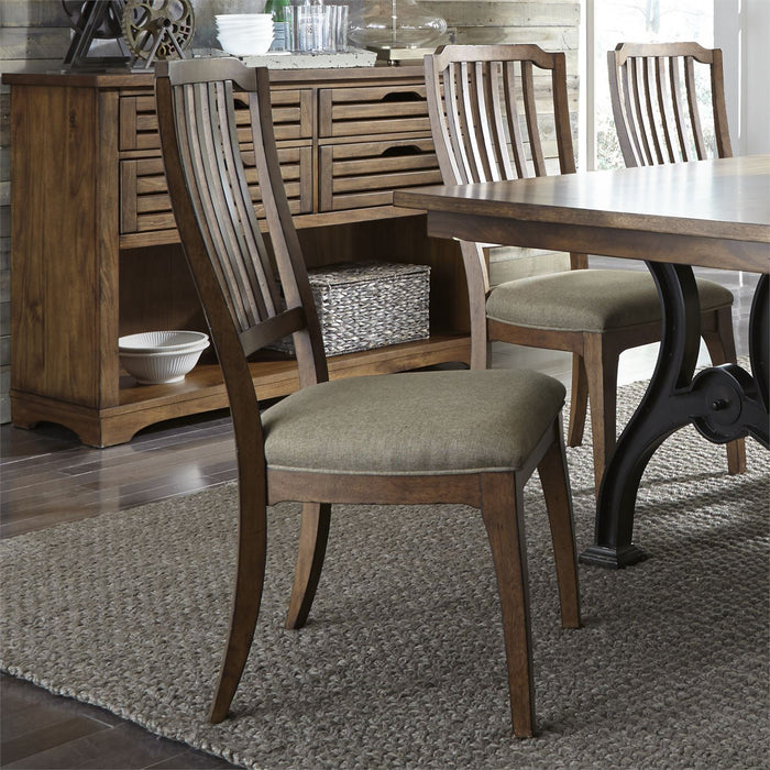 Liberty Furniture | Dining Opt 7 Piece Trestle Table Set in Annapolis, MD 7270