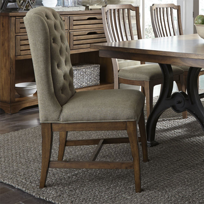 Liberty Furniture | Dining 7 Piece Trestle Table Set in Frederick, Maryland 7266