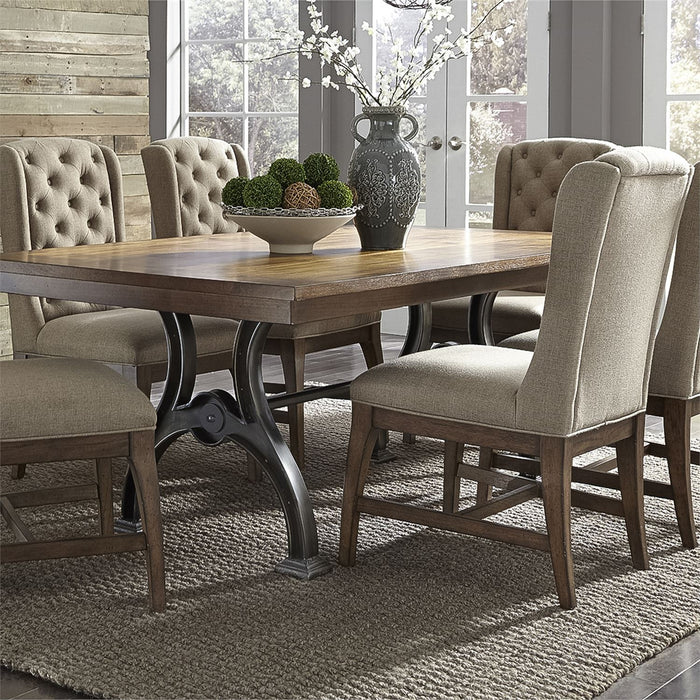 Liberty Furniture | Dining 7 Piece Trestle Table Set in Frederick, Maryland 7264