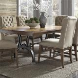 Liberty Furniture | Dining 7 Piece Trestle Table Set in Frederick, Maryland 7263