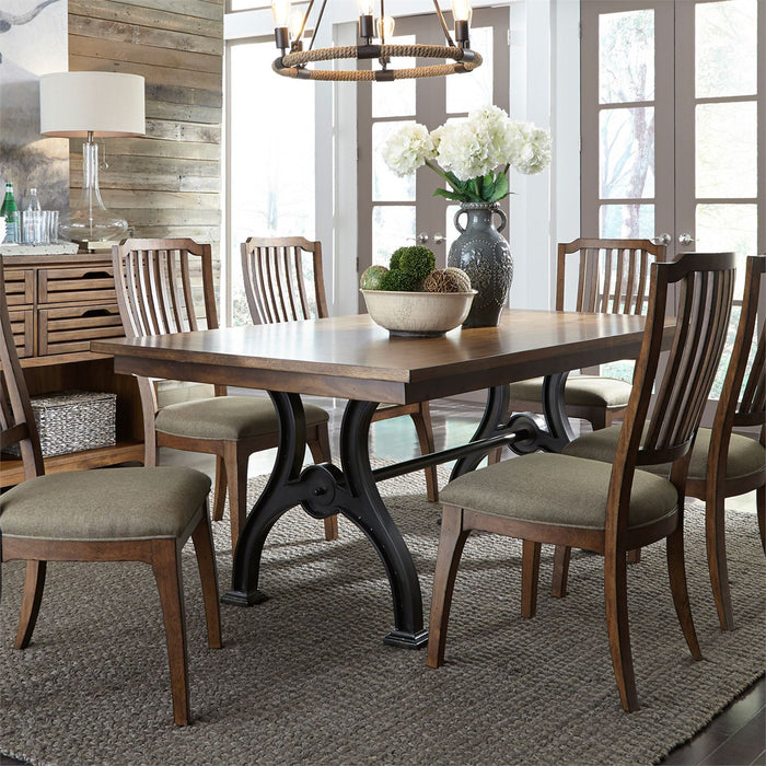 Liberty Furniture | Dining Opt 7 Piece Trestle Table Set in Annapolis, MD 7268
