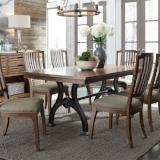 Liberty Furniture | Dining Opt 7 Piece Trestle Table Set in Annapolis, MD 7267