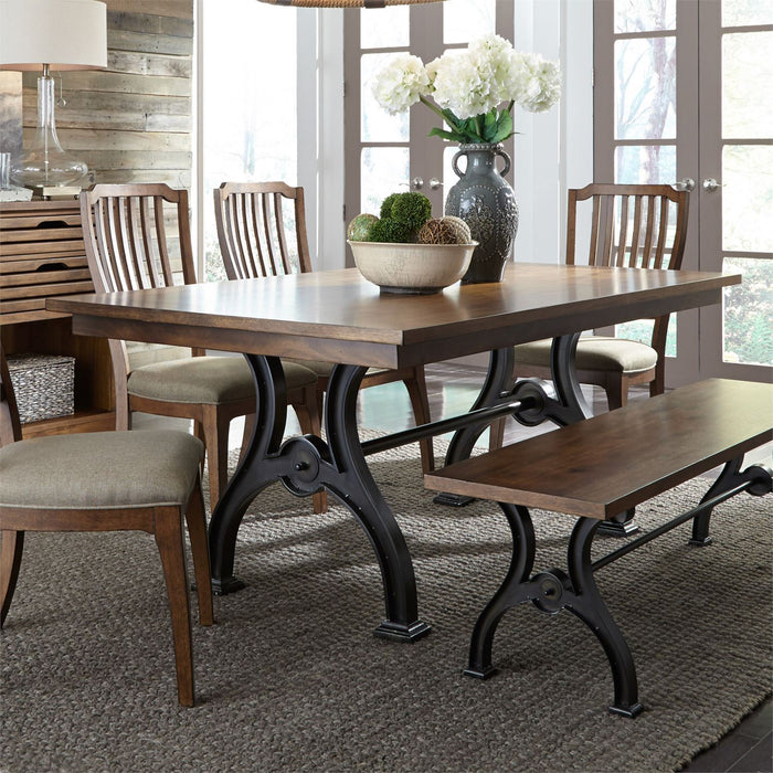 Liberty Furniture |Dining Opt 6 Piece Trestle Table Set in Baltimore, Maryland 7260