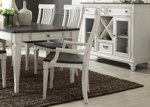 Liberty Furniture | Dining Slat Back Arm Chair in Richmond,VA 136