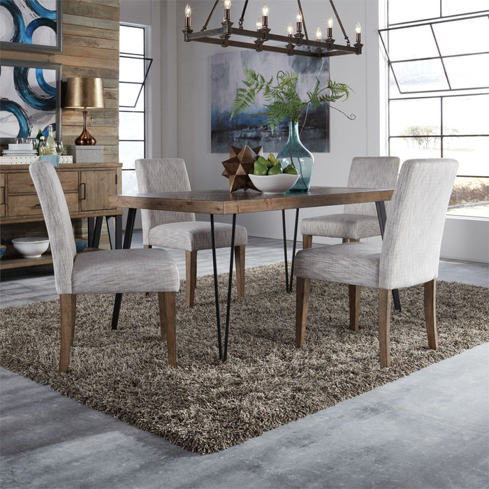 Liberty Furniture | Casual Dining 5 Piece Rectangular Table Set in Winchester, VA 3758