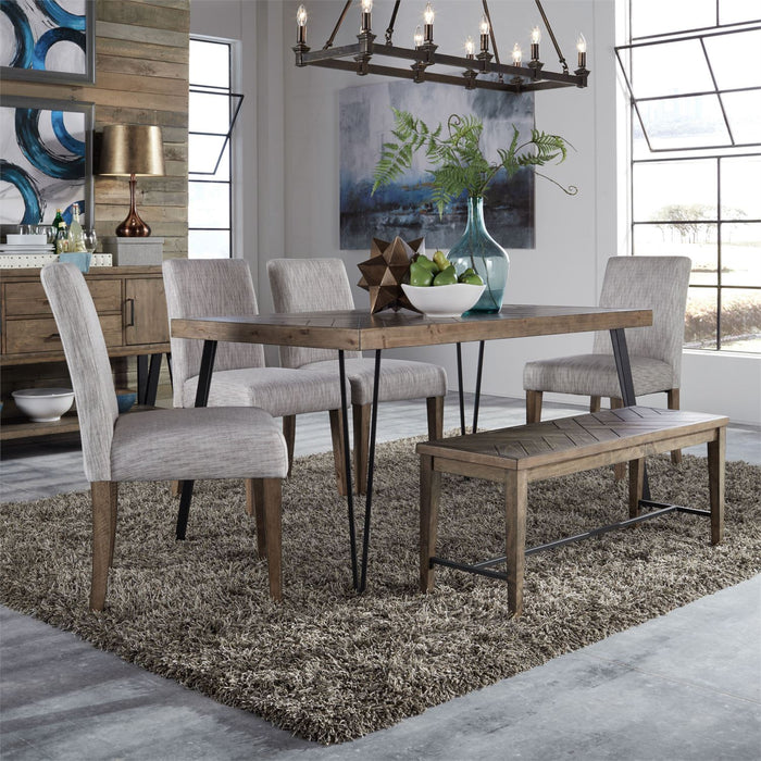 Liberty Furniture | Casual Dining 6 Piece Rectangular Table Set in Annapolis, MD 3762
