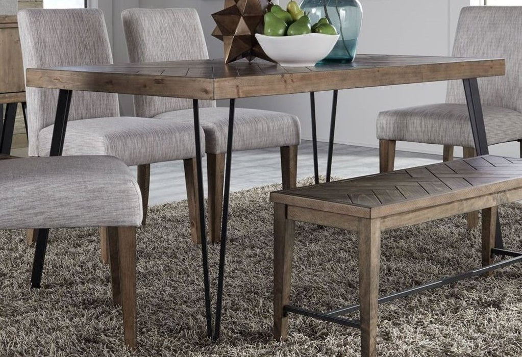 Liberty Furniture | Casual Dining Rectangular Leg Table in Richmond,VA 3745