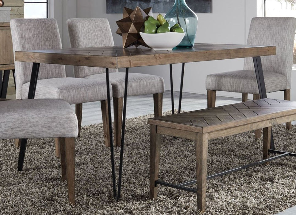 Liberty Furniture | Casual Dining 5 Piece Rectangular Table Set in Winchester, VA 3759