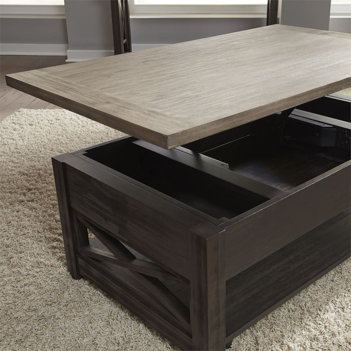 Liberty Furniture | Occasional Lift Top Cocktail Table in Richmond Virginia 9379