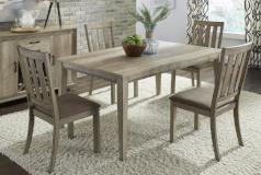 Liberty Furniture | Dining 5 Piece Rectangular Table Sets in Charlottesville, Virginia 524