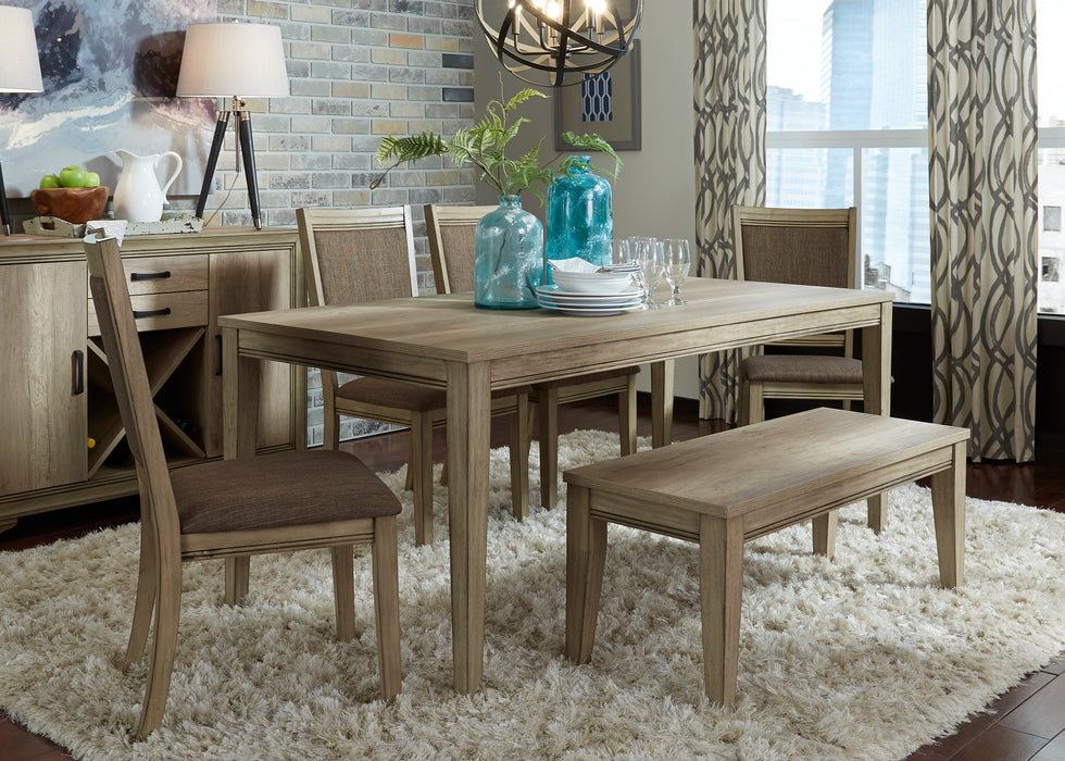 Liberty Furniture | Dining 6 Piece Rectangular Table Sets in Lynchburg, Virginia 563