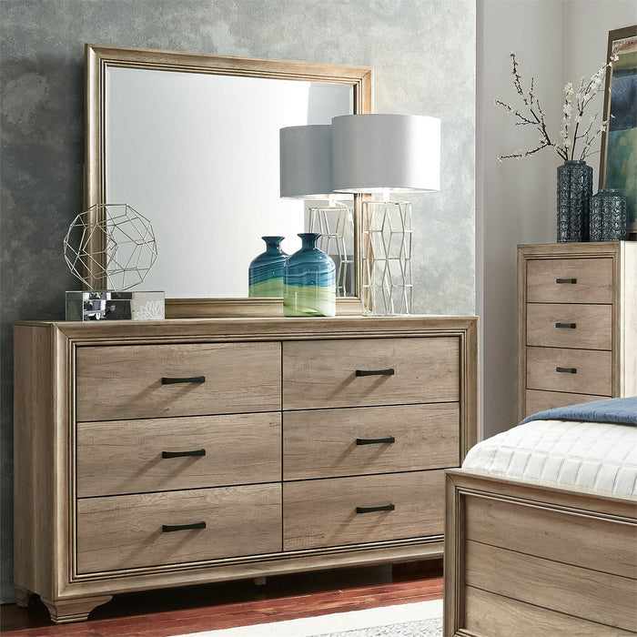 Liberty Furniture | Bedroom Dresser & Mirror in Lynchburg, Virginia 6374