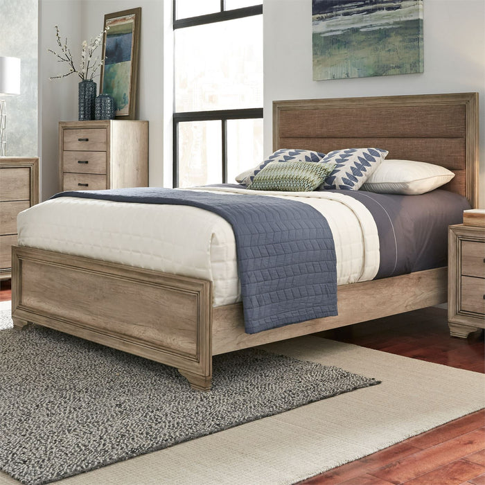 Liberty Furniture | Bedroom King Uph 4 Piece Bedroom Set in Baltimore, MD 6465