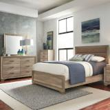 Liberty Furniture | Bedroom King Uph 4 Piece Bedroom Set in Baltimore, MD 6463