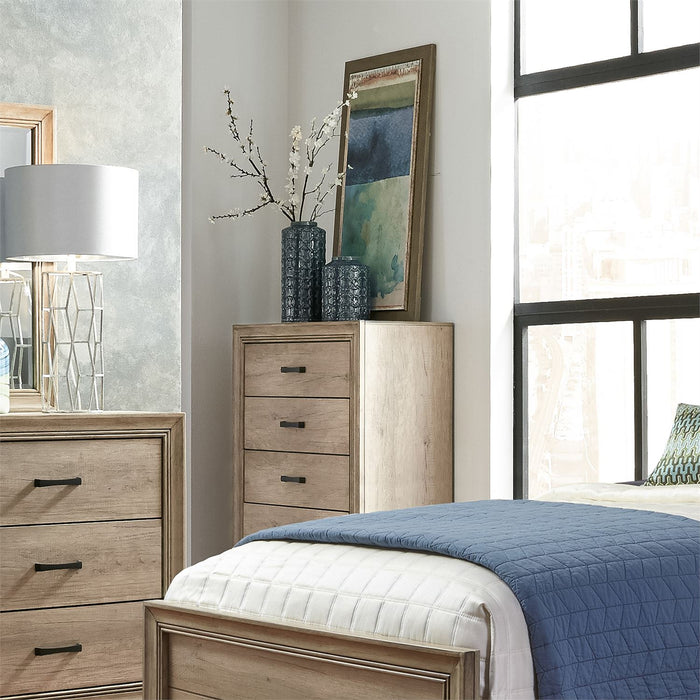 Liberty Furniture | Bedroom Queen Uph 4 Piece Bedroom Set in Baltimore, MD 6447