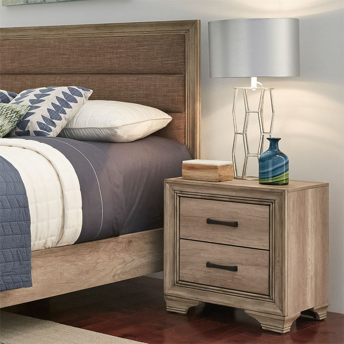 Liberty Furniture | Bedroom King Uph 4 Piece Bedroom Set in Baltimore, MD 6469