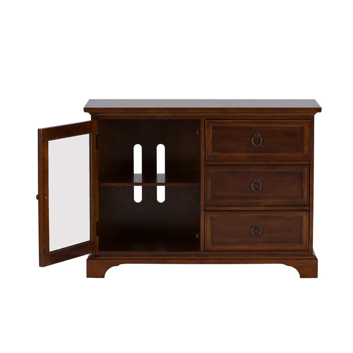 Liberty Furniture | Entertainment TV Console - 44 Inch - Cherry in Richmond Virginia 4376
