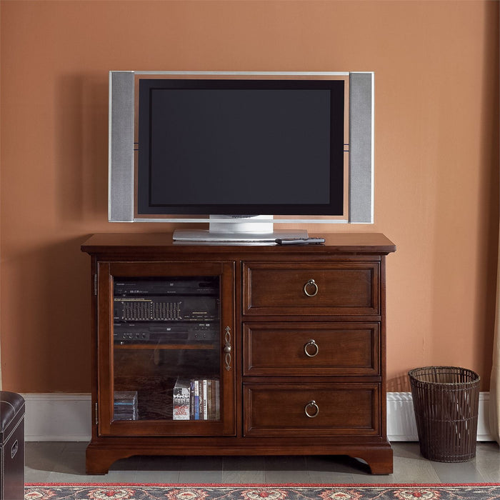 Liberty Furniture | Entertainment TV Console - 44 Inch - Cherry in Richmond Virginia 1446