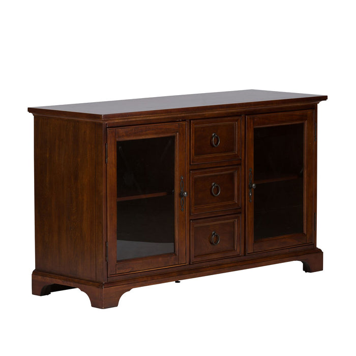 Liberty Furniture | Entertainment TV Console - 54 Inch - Cherry in Lynchburg, Virginia 4382