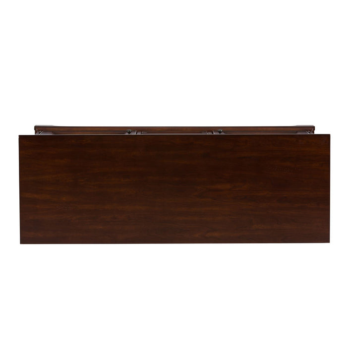 Liberty Furniture | Entertainment TV Console - 54 Inch - Cherry in Lynchburg, Virginia 4384