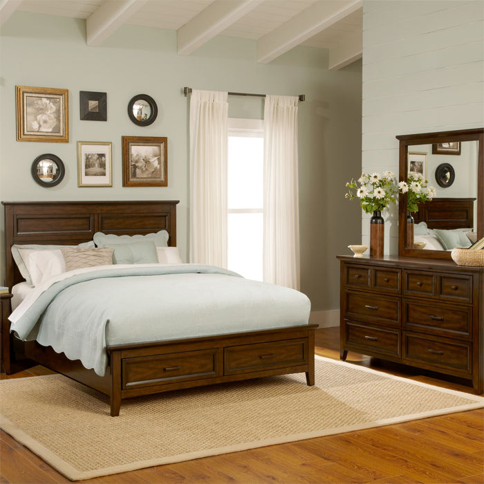 Liberty Furniture | Bedroom King Storage 4 Piece Bedroom Sets in Baltimore, Maryland 10637