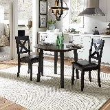 Liberty Furniture | Casual Dining 3 Piece Drop Leaf Table Set in Richmond,VA 19101