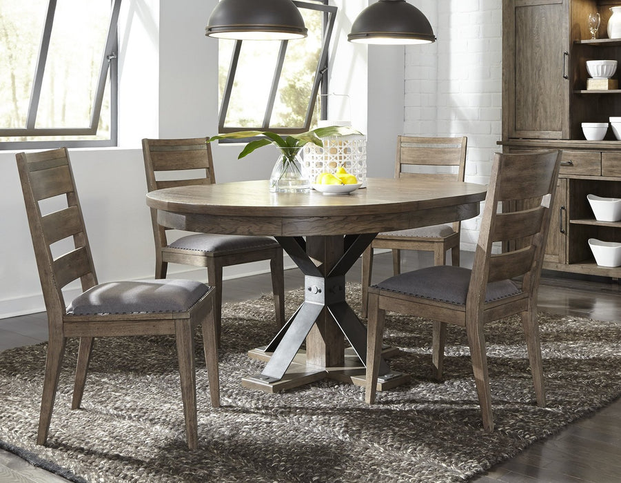 Liberty Furniture | Dining 5 Piece Pedestal Table Sets in Fredericksburg, Virginia 301