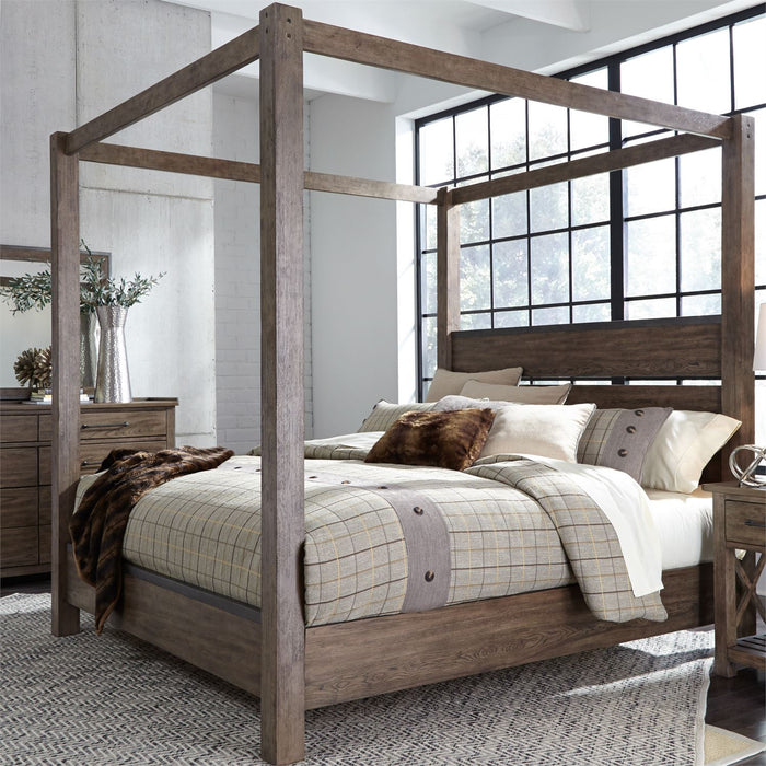 Liberty Furniture | Bedroom King Canopy 5 Piece Bedroom Set in New Jersey, NJ 4848