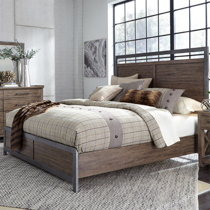 Liberty Furniture | Bedroom King Panel Bed in Charlottesville, Virginia 4746