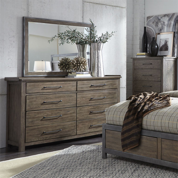 Liberty Furniture | Bedroom King Poster 4 Piece Bedroom Set in Pennsylvania 4894