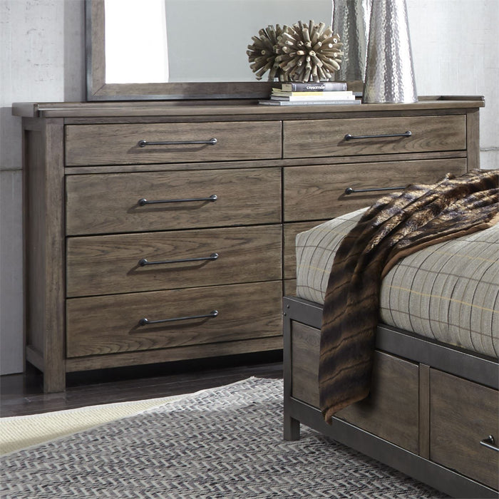 Liberty Furniture | Bedroom King Poster 4 Piece Bedroom Set in Pennsylvania 4895
