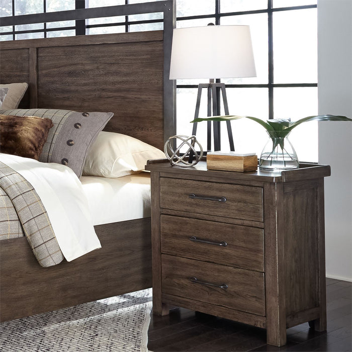 Liberty Furniture | Bedroom King Poster 4 Piece Bedroom Set in Pennsylvania 4898