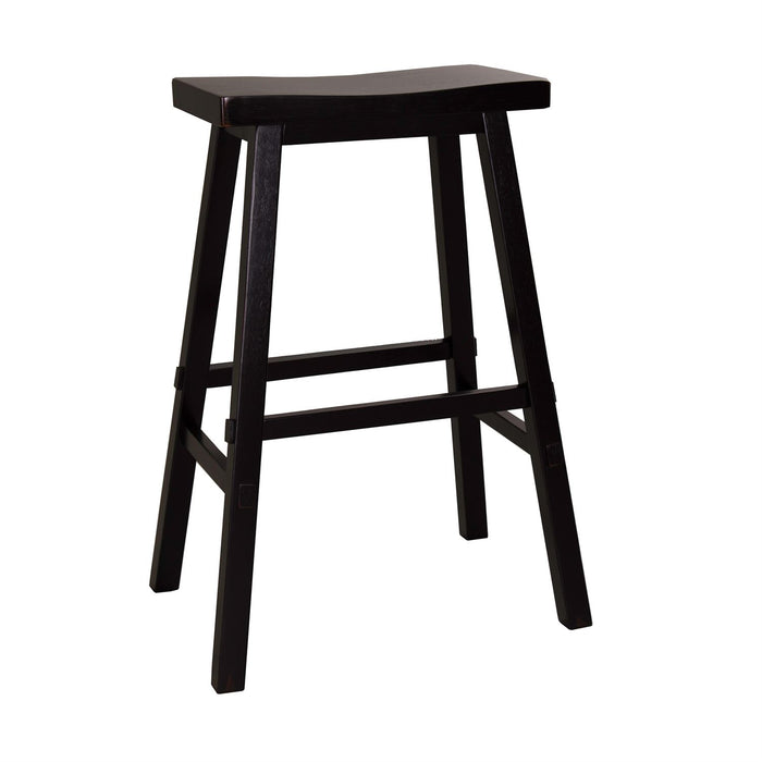 Liberty Furniture | Casual Dining 30 Inch Sawhorse Barstools - Black in Richmond Virginia 10398