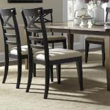 Liberty Furniture | Dining X Back Side Chairs - Black in Richmond Virginia 10959
