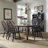 Liberty Furniture | Dining 7 Piece Rectangular Table Sets in Frederick, Maryland 11041