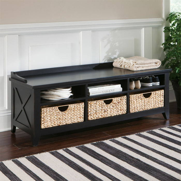 Liberty Furniture | Accent Cubby Storage Bench in Richmond Virginia 7502