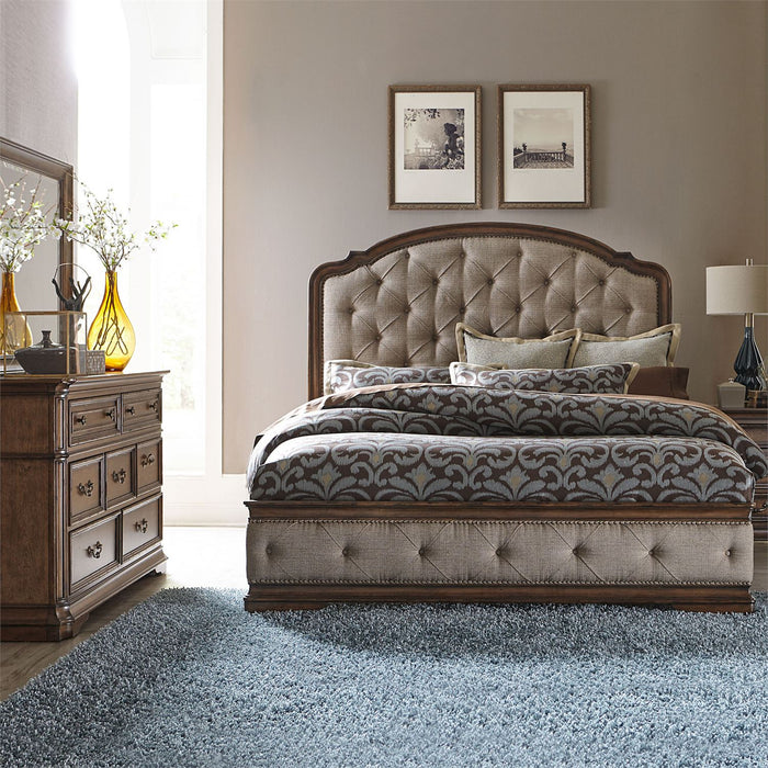 Liberty Furniture | Bedroom King Uph 4 Piece Bedroom Sets in Pennsylvania 2334