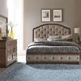 Liberty Furniture | Bedroom Queen Uph 5 Piece Bedroom Sets in New Jersey, NJ 2390
