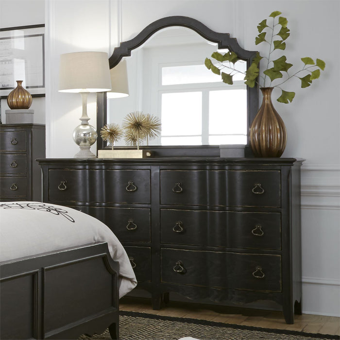 Liberty Furniture | Bedroom Dresser & Mirror in Charlottesville, Virginia 4479