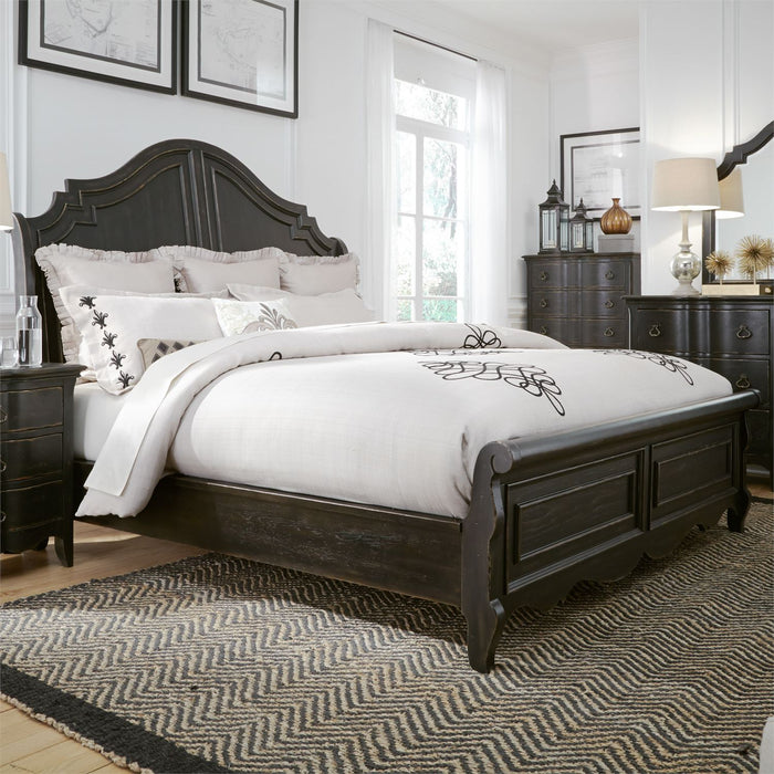 Liberty Furniture | Bedroom King Sleigh 5 Piece Bedroom Set in New Jersey, NJ 4615